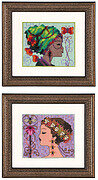 Bella Butterfly and Bella Bee - Cross Stitch Pattern