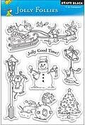 Jolly Follies - Clear Stamp