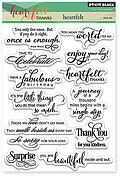 Heartfelt - Clear Stamp