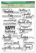 Sprinkles And Smiles - Clear Stamp
