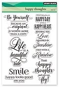 Happy Thoughts - Clear Stamp