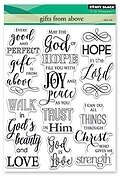 Gifts From Above - Clear Stamp