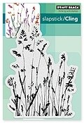 Nature's Paintbrushes - Slapstick Cling Rubber Stamp