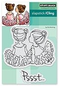 Whispers - Slapstick Cling Rubber Stamp