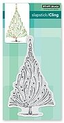 Starry Tree - Slapstick Cling Rubber Stamp