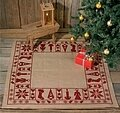 Christmas Tree Skirt - Cross Stitch Kit