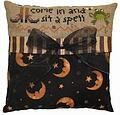 Sit a Spell Pillow - Cross Stitch Kit