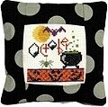 October 2011 Small Pillow Kit - Cross Stitch Kit