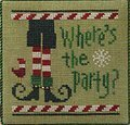 Quick It- Where's the Party? - Cross Stitch Pattern