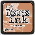 Tim Holtz Distress Mini Ink Pad - Tea Dye