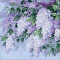 Lilacs After The Rain - Cross Stitch Kit