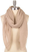 Super Soft Crinkled Scarf - Taupe