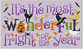 Most Wonderful Fright - Cross Stitch Pattern