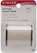 Singer All Purpose Polyester Thread - Natural 150 yards