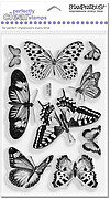 Butterflies - Stampendous Perfectly Clear Stamp