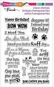Dog Sayings Perfectly Clear Stamps