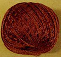 Valdani 3-Ply Thread - Brick Dark