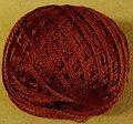 Valdani 3-Ply Thread - Brick Dark