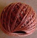 Valdani 3-Ply Thread - Faded Rust Medium
