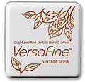 VersaFine Small Ink Pads - Vintage Sepia