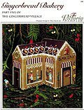 Gingerbread Bakery  - Cross Stitch Pattern