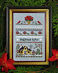 Poinsettia Place - Cross Stitch Pattern