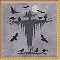 Beneath the Harvest Moon - Cross Stitch Pattern