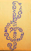 Tribal Clef - Cross Stitch Pattern