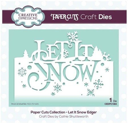 Creative Expressions Paper Cuts Collection Deck the Halls Craft Die
