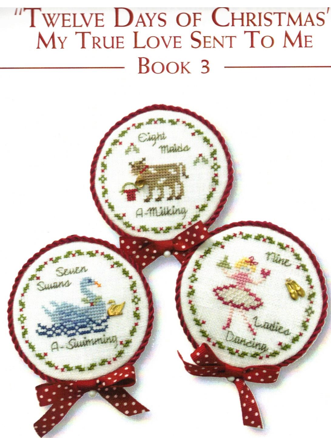JBW Designs Twelve days of Christmas - Book 3 - Cross Stitch ...