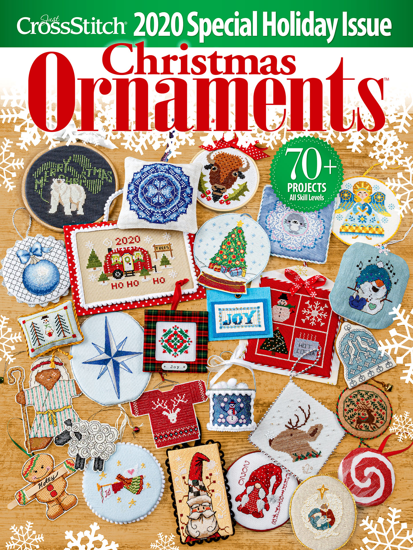 A Cross Stitch Christmas 2020 Just Cross Stitch 2020 Christmas Ornaments Magazine   123Stitch