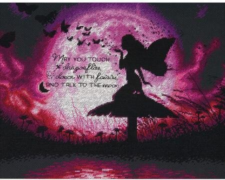 Sticker child fairy butterflies ref 2517 dimensions of 10 cm to 130cm height