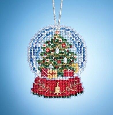 Joyful Angel Bead Christmas Ornament Kit Mill Hill 2001 Winter Holiday