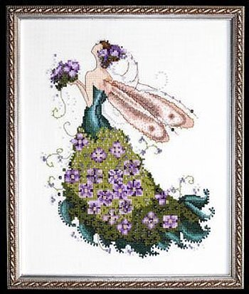 "SALE COMPLETE XSTITCH KIT /""JUNE/'S PEARL FAIRY/"" by Mirabilia"
