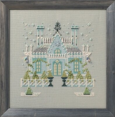 Gothic House ~ Cross Stitch Pattern Printed Victorian Castle