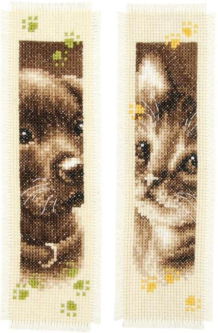 "11 Count Aida Fabric 100/% Cotton Cross Stitch in Black Bookmark Size 2x8/"""
