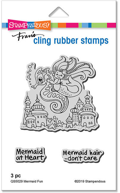 Stampendous Clear Stamps /& Cutting Dies Mermaid /& Friends