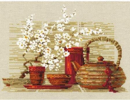Cross Stitch Kit Tea Fairy VK-0793