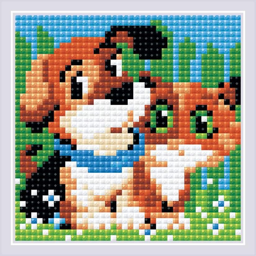 RIOLIS Diamond Mosaic KIT FREIN Best Friend