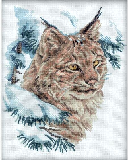 Cross Stitch Kit Black cat M-142
