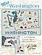 Washington Map - Cross Stitch Pattern