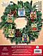 Owl Christmas Ornaments - Cross Stitch Kit