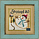 6 Fat Men Series - Snowed In - Cross Stitch Pattern