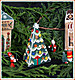 Village Christmas Tree - Cross Stitch Pattern